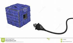 Solar Panel Cube Connection Royalty Free Stock Photo ...