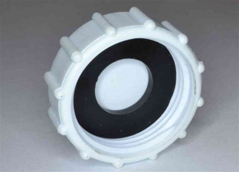 "1"" BSP Plastic Cap With Washer   Stevenson Plumbing"