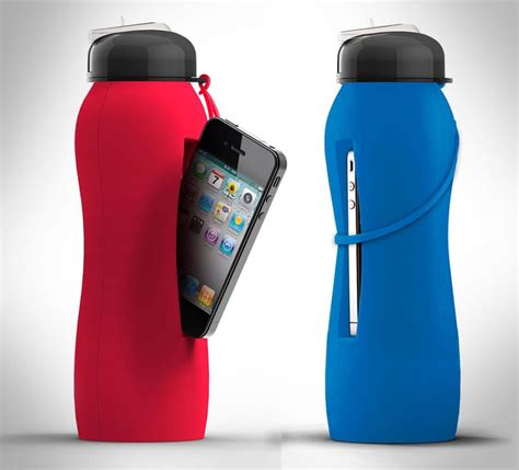 phone bottle holds water beat tweet odditymall