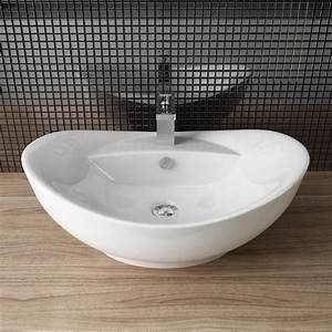 Bauhaus Gäste Wc Waschbecken : design keramik aufsatz waschbecken tisch handwaschbecken g ste wc a82 ebay ~ Markanthonyermac.com Haus und Dekorationen