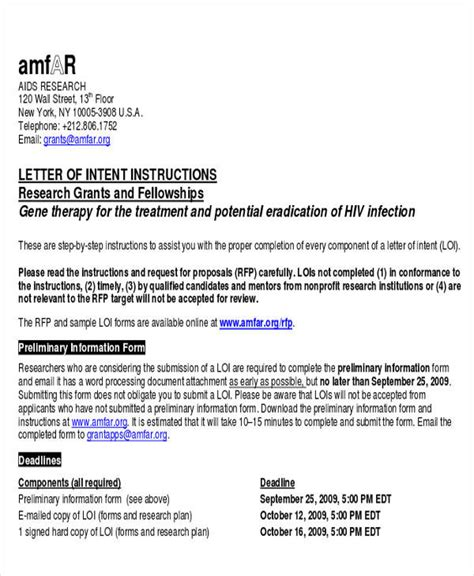 Rfp Letter Of Intent Template by 60 Sle Letters Of Intent Sle Templates