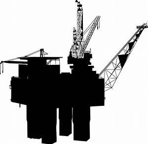 Svg  U0026gt  Rig Drill Oil Platform