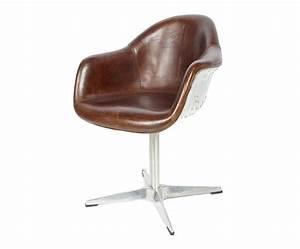 Chaise De Bureau Vintage : sige bureau vintage cuir pleine fleur wessex decostock ~ Teatrodelosmanantiales.com Idées de Décoration