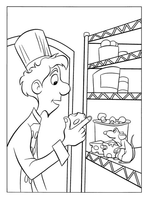 kids n fun com 55 coloring pages of ratatouille