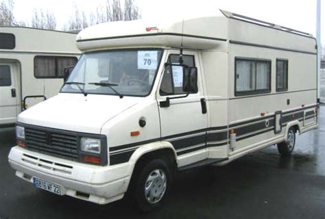 camping car burstner  profile