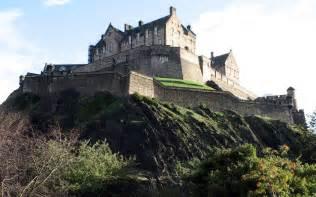 Famous Edinburgh Castle Scotland