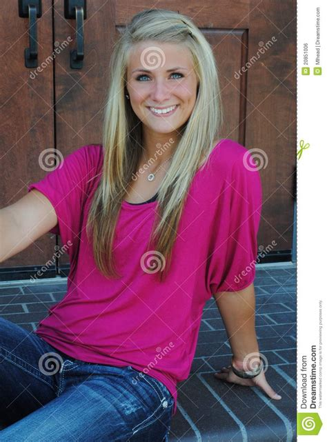 Smiling Teen Royalty Free Stock Image Image 20851006