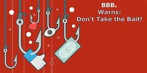 BBB Alert: Click Bait Scam. Don't Take the Bait