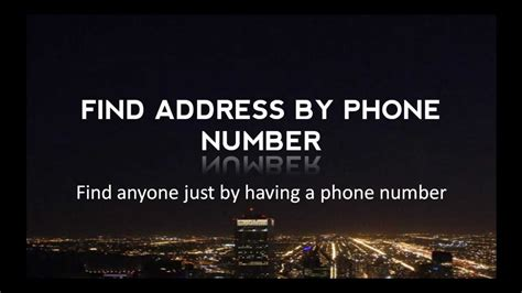 find address by phone number top 2 solutions