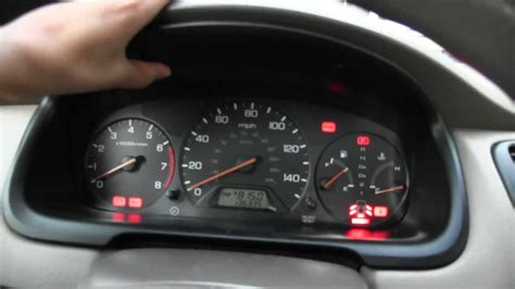 honda accord dash lights speedometer gauge for a 1986 honda accord