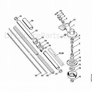 Stihl Fs 80 Brushcutter  Fs80 4137   Parts Diagram  J