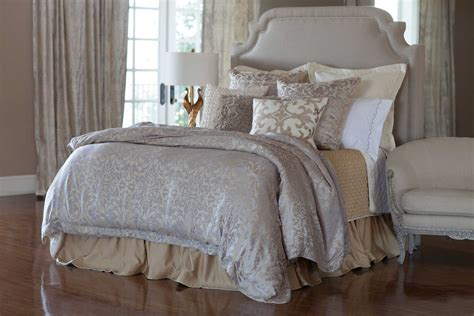 Coverlet Or Duvet by Lili Alessandra Jackie In Luxurious Silk Tencel Fabric In