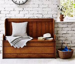 Wood Settles, Wooden Hall Furniture - Titchmarsh & Goodwin