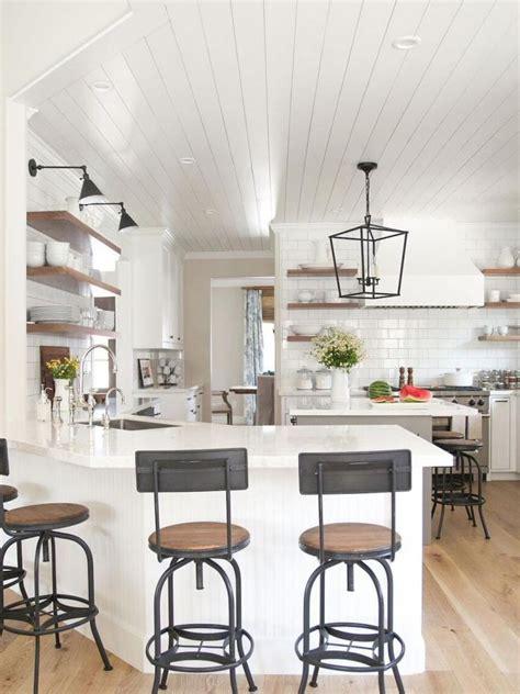 modern farmhouse kitchen makeover decor ideas