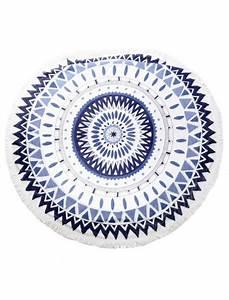Serviette Ronde Eponge : serviette de plage ronde h7 ~ Teatrodelosmanantiales.com Idées de Décoration