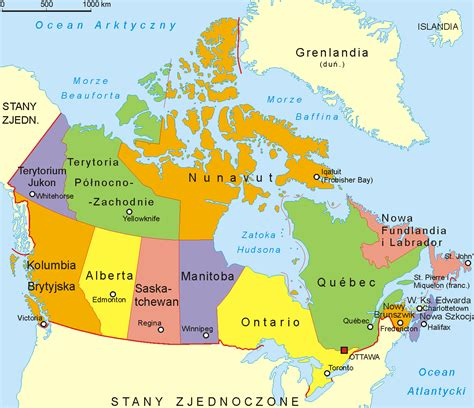 map canada cities  travel information