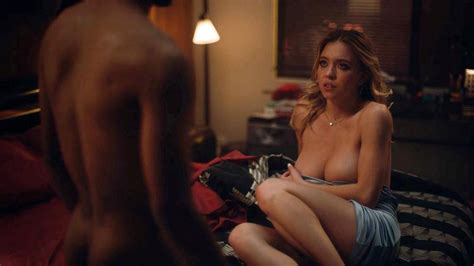 Sydney Sweeney Topless Sex Scene From Euphoria Scandal