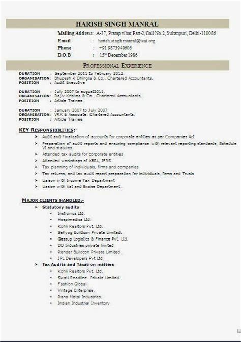 Windows Resume Exles resume template windows 7 resume template