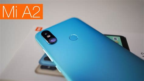 xiaomi mi a2 unboxing and overview youtube