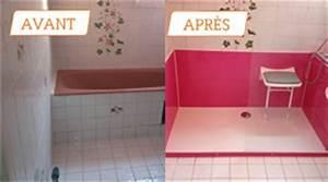Transformer Une Baignoire En Douche : changer sa baignoire pour une douche en 24h courtier en travaux ~ Farleysfitness.com Idées de Décoration