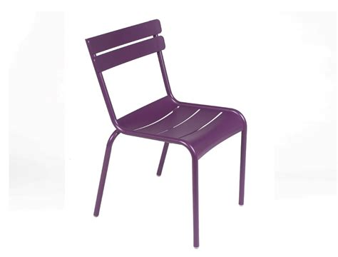 chaise luxembourg luxembourg colourful aluminium garden chair designed by