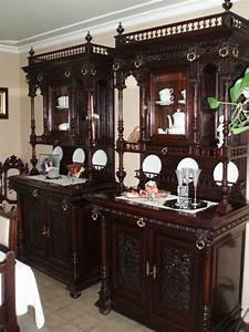 Prachtige Antieke Mechelse Eetkamer Tweedehands