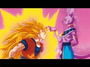 DBZ Battle of Gods - SSJ3 Goku VS Bills - YouTube