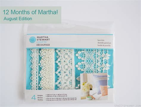 12 Months Of Martha Stewart Crafts  August Supplies