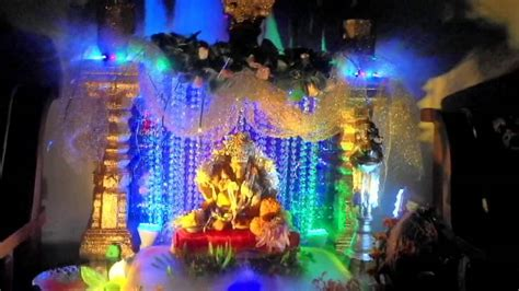 Garden Decoration For Ganpati by Ganpati Decoration