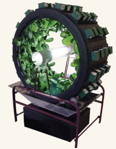 Hydro Closet by Volksgarden Rotating Garden Lets You Grow Anything At Home