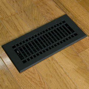 Cast Iron Floor Register 4 X 12 by Floor Registers Cast Iron Floor Register With Louvers 4