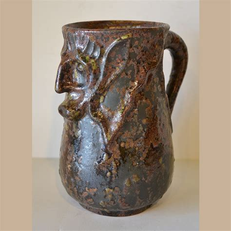 walley pottery face mug  sale daltons american