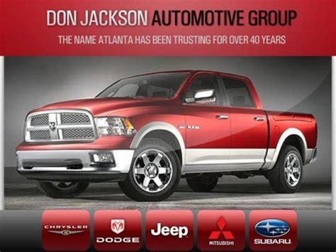 Don Jackson Chrysler Dodge by Don Jackson Chrysler Dodge Jeep Ram Union City Ga 30291