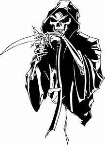 Grim Reaper Skull Scythe Blade Knife Car Truck Window ...