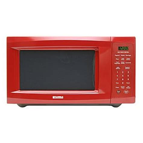 red microwave oven tool box