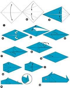 Origami Animaux Facile Gratuit : tuto origami dauphin ~ Dode.kayakingforconservation.com Idées de Décoration