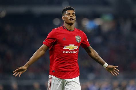 Footballer marcus rashford is set to become the youngest recipient of an honorary doctorate from the university of manchester. Marcus Rashford is more than capable of leading United's attack