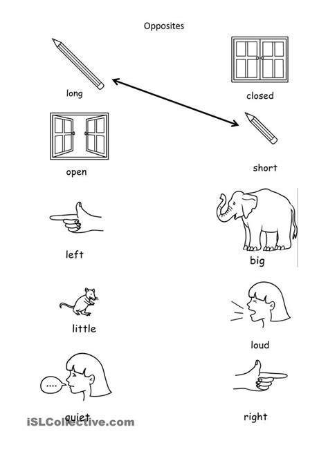 image result  opposites activities preschool le
