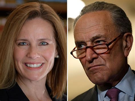 Schumer Targets Possible Supreme Court Nominee Amy Coney