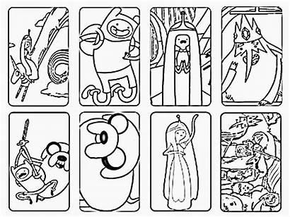 Adventure Coloring Pages Printable Characters Cartoons Adventures