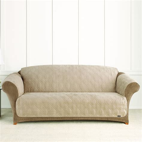 sure fit sofa covers sure fit slipcovers pet throw quilted sofa cover atg stores