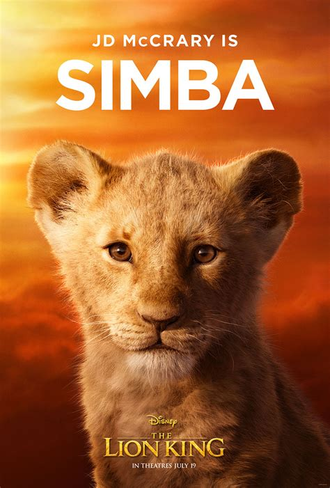 lion king   characters posters  tv spot