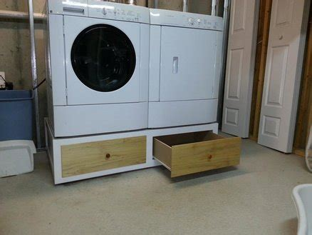 pedestal for washer and dryer washer dryer pedestal by johnmeeley lumberjocks