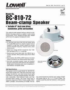 Lowell 810 Speaker Wiring Diagram