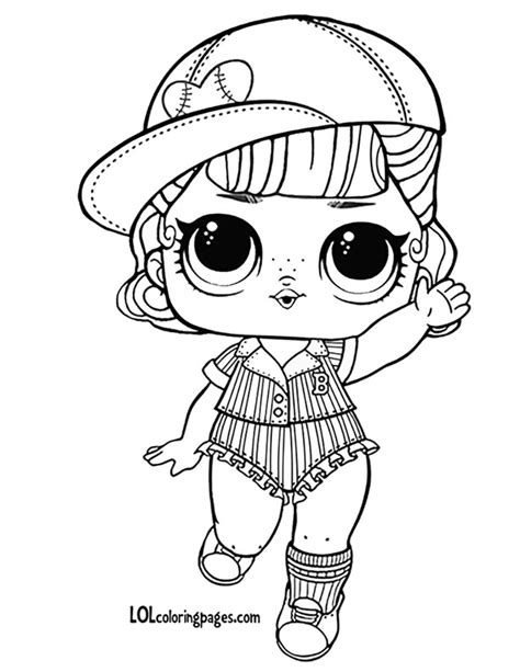 Classy Idea Doll Coloring Pages Short Stop LOL Page