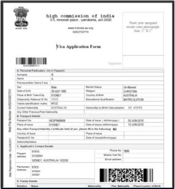 Application Form For Tourist Visa To India From Uk by Cara Memohon Tourist Visa Ke India