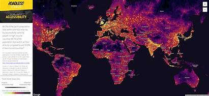 Map Cities Earth Nature Global Point Travel