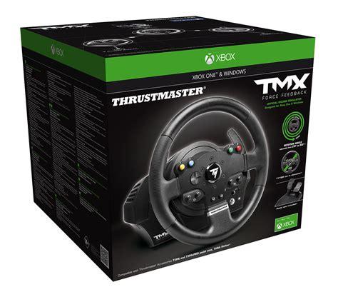 Volanti Xbox One by Thrustmaster Tmx Feedback Un Nouveau Volant Pour