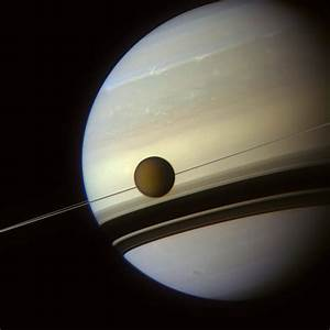 APOD: 2012 July 3 - In the Shadow of Saturn's Rings
