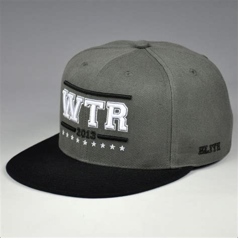custom embroidered design snapback hats character
